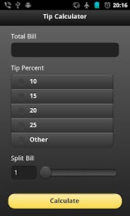 Tip Calc- screenshot thumbnail