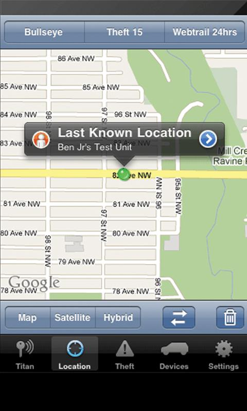 Titan GPS - screenshot
