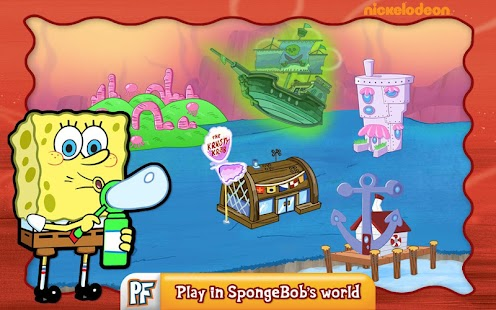 SpongeBob Diner Dash Screenshot 1