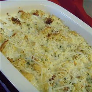 Crab Brunch Casserole.