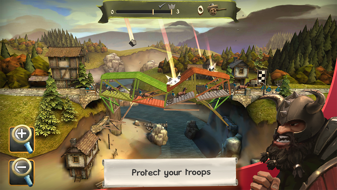 Bridge Constructor Medieval- screenshot