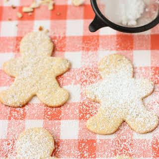 Healthier Almond Sugar Cookies.