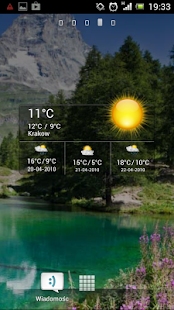 Cute Weather Widget screenshot