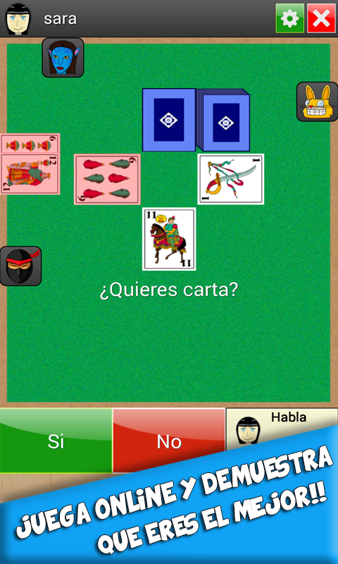 SieTe y MeDia - screenshot