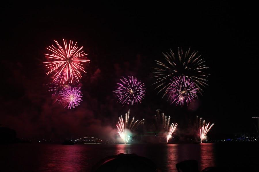 firework by Godwin Godwin - Abstract Fire & Fireworks ( fire @ work )