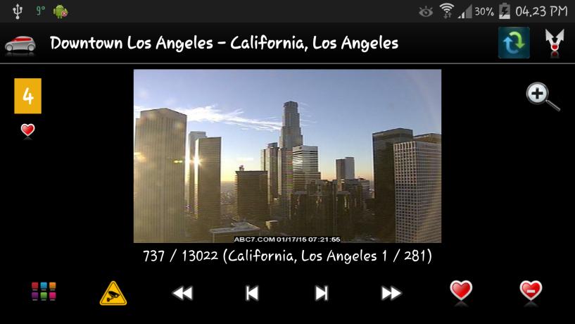 Cameras US - screenshot
