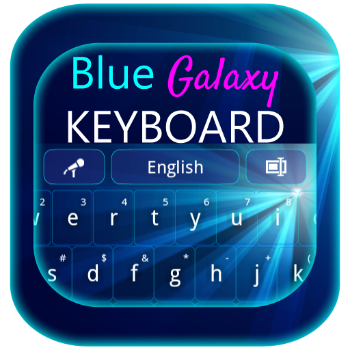Blue Galaxy Keyboard LOGO-APP點子