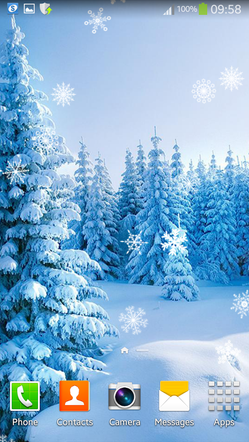 winter live wallpaper android apps on google play
