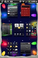Screenshot of Christmas Lights LiveWallpaper