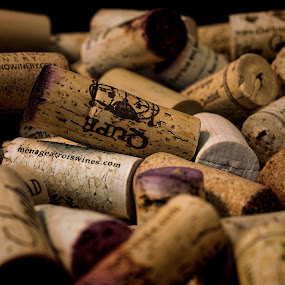 Oh What a Night by Brent Dreyer - Food & Drink Alcohol & Drinks ( wine, cork, red, still life, 50mm, drinks,  )