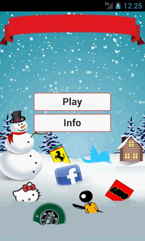 Christmas Logo Trivial Quiz - screenshot