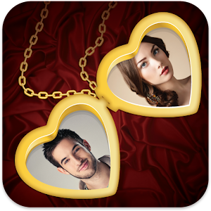 Love Photo Locket Icon