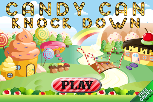 Candy Can Knockdown Strike
