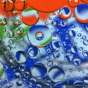 Sweety Bubbles by Dhani Prasetya Yudhistira - Instagram & Mobile Other ( water, abstract, orange, macro, blue )