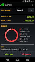 Screenshot of Pocket Budget