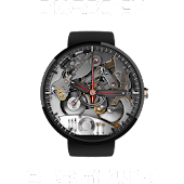 Steampunk Watchface for Wear