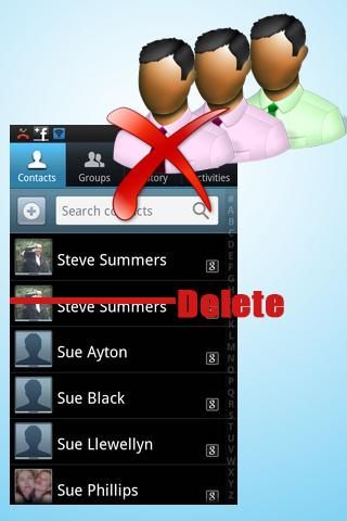 Delete Duplicate Contacts