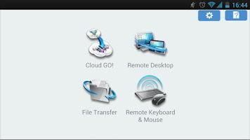 Screenshot of Wi-Fi GO! & NFC Remote