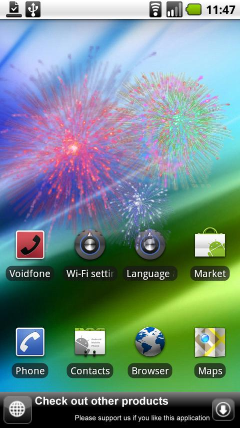 Live Fireworks- screenshot