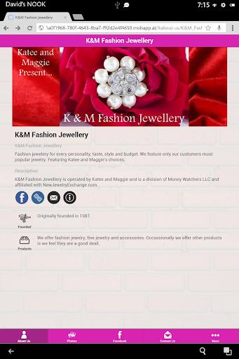 【免費購物App】K&M Fashion Jewellery-APP點子