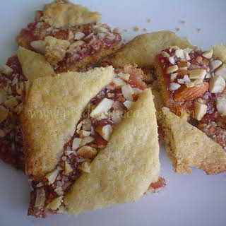 Hungarian Strawberry Bars.