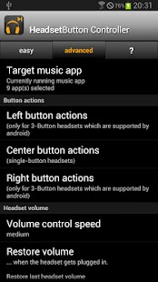 Headset Button Controller - screenshot thumbnail