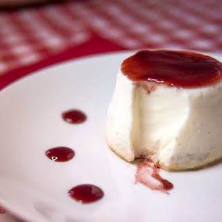 Authentic Gelatin-Free Panna Cotta.