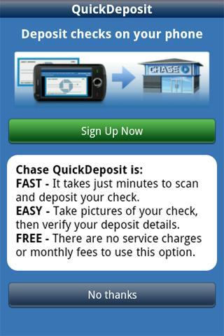 Chase Mobile - screenshot
