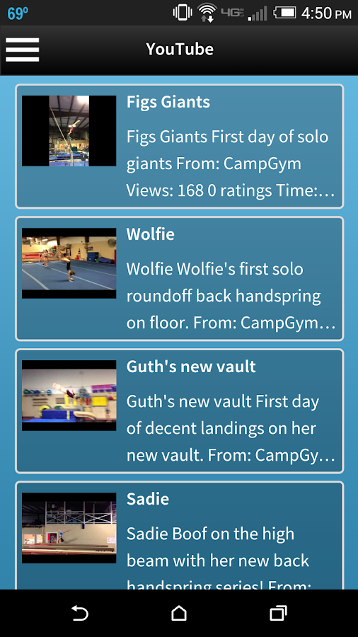 Campbell's Gymnastics- screenshot