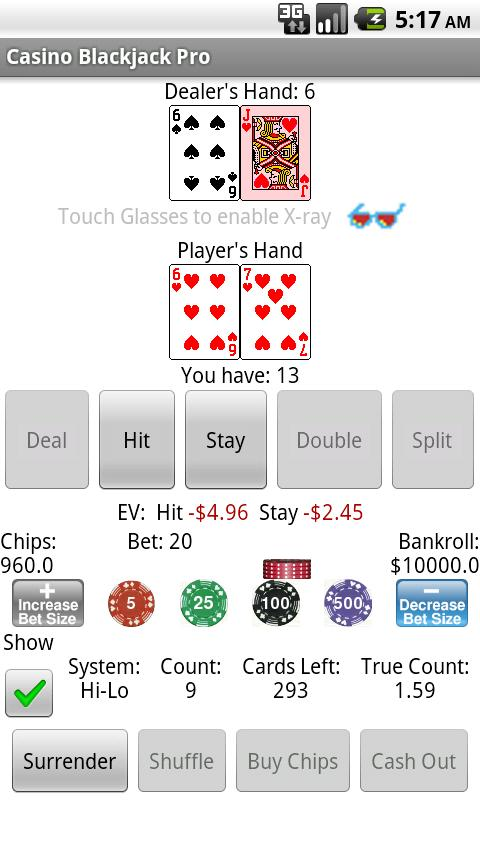 Casino Blackjack Pro - screenshot