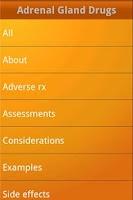 Screenshot of NurseTabs: Pharmacology