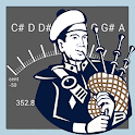 Fine Bagpipes Tuner icon