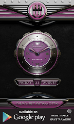 dragon digital clock rose APK screenshot thumbnail 3