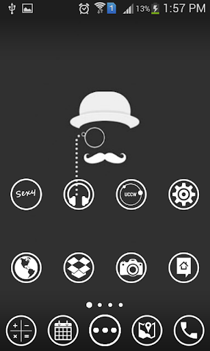 WHITE THE ICON PACK