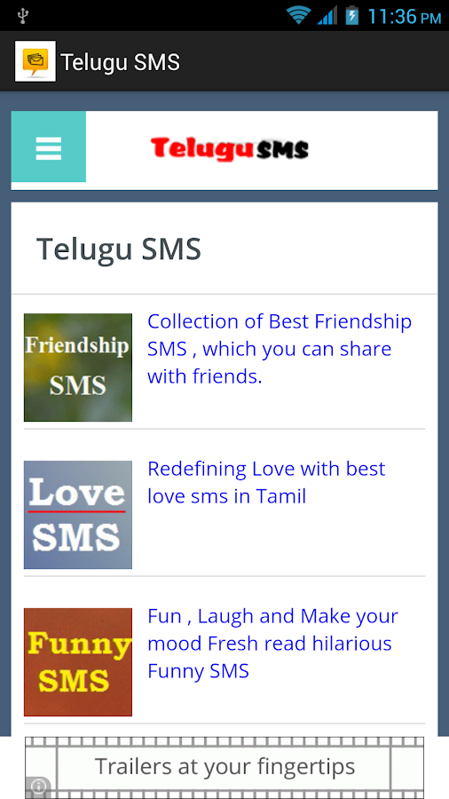 telugu sms   android apps on google play