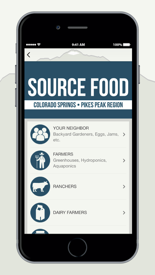 LocalFood Colorado Springs- screenshot