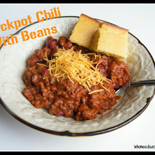 Crockpot Chili with Beans.