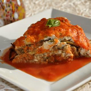 Eggplant Parmigiana with Cashew Ricotta