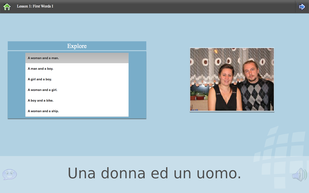L-Lingo Learn Italian- screenshot
