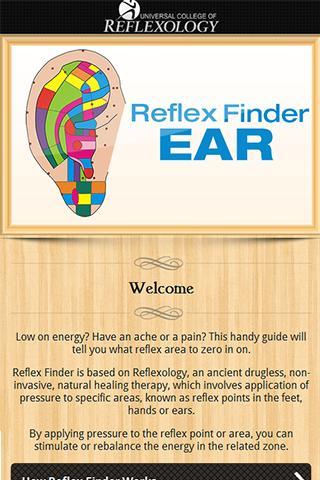 Reflex Finder : Ear