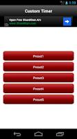 Screenshot of Tabata Exercise Interval Timer