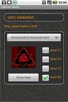 Screenshot of SupDroid