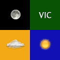 Weather Victoria (Australia) logo