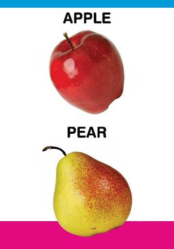 PreSchool Book - Fruits