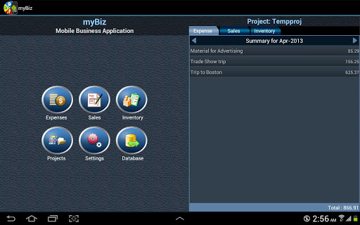 myBiz TE Mobile Business MGR