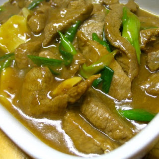 Beef With Ginger And Spring Onion (姜葱牛肉)