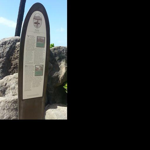 Duke Paoa Kahanamoku Statue History Marker — Google Arts