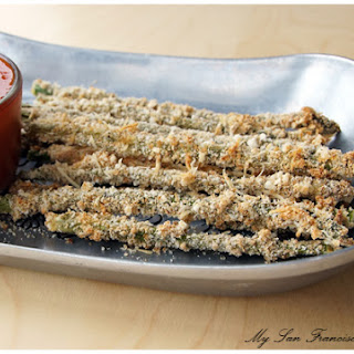Baked Asparagus Fries