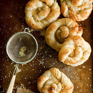 Orange Sugar Danish Pastries.