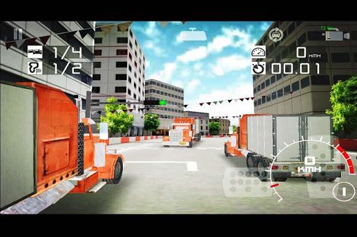 卡車賽車模擬器停車場